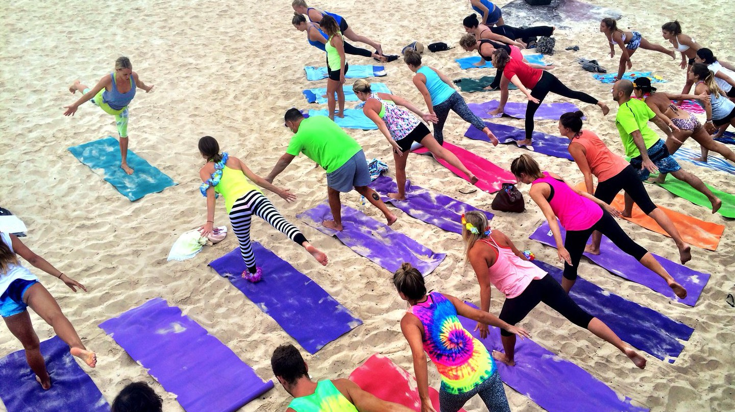 Yoga by the Sea image author's own