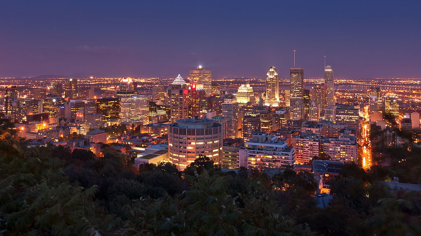 Montreal skyline from Mont Royal | © Paolo Costa Baldi / Wikimedia Commons