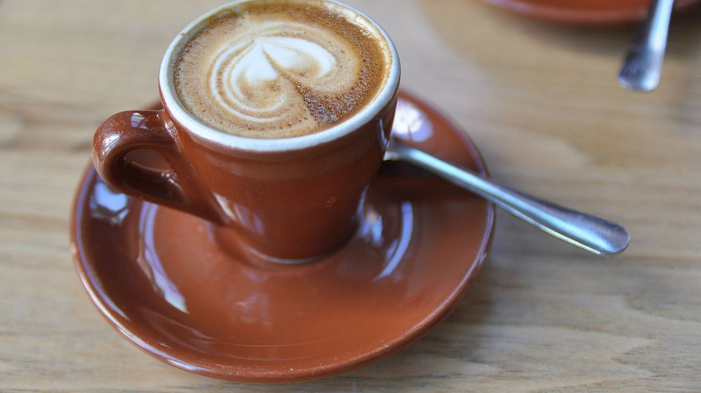 A macchiato from Blue Bottle Coffee | © Jonathan McIntosh/WikiCommons