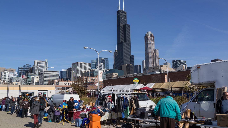 Maxwell Street Market | © Edsel Little / Flickr