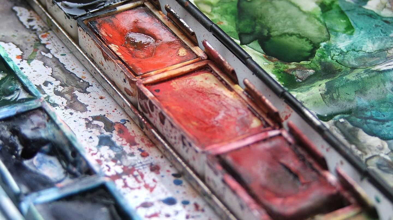Watercolor Palette | © Björn Laczay / WikiCommons
