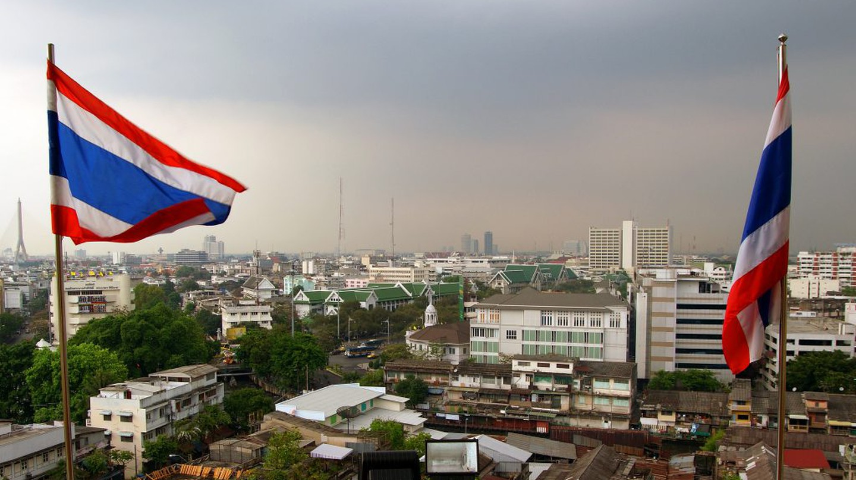 A Bangkok Skyline   © Bernard Spragg. NZ / Flickr