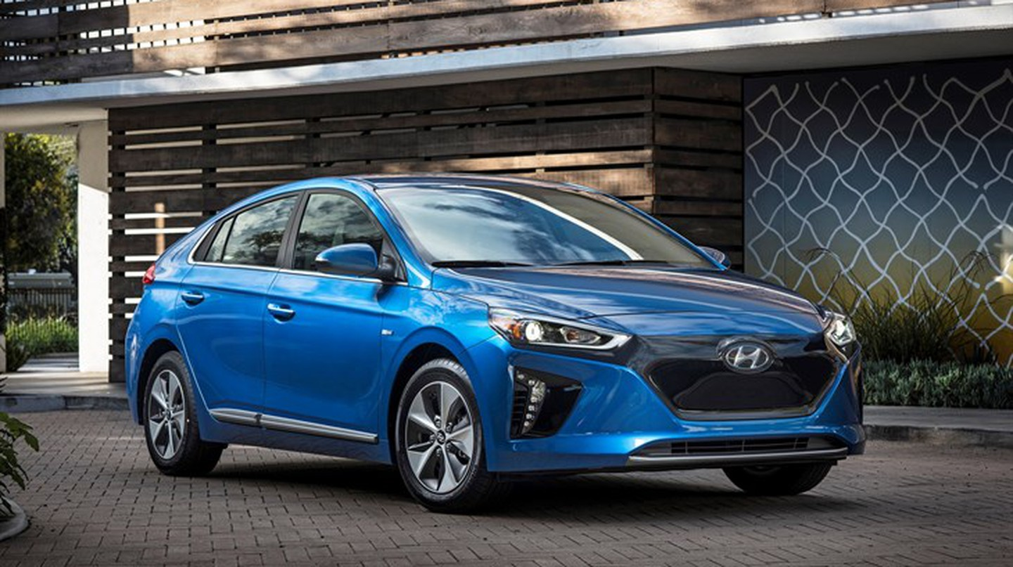 Hyundai's 2017 Ioniq Electric Vehicle (EV) is aiming to be an affordable autonomous vehicle | Courtesy of Hyundai