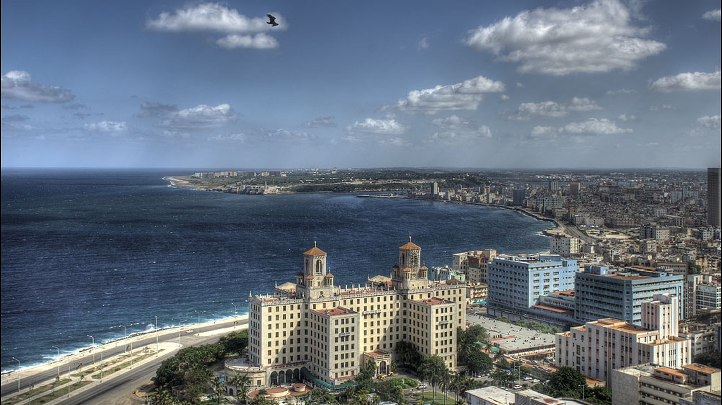 Aerial view of the Hotel Nacional, Havana | © Thomas Münter / Flickr