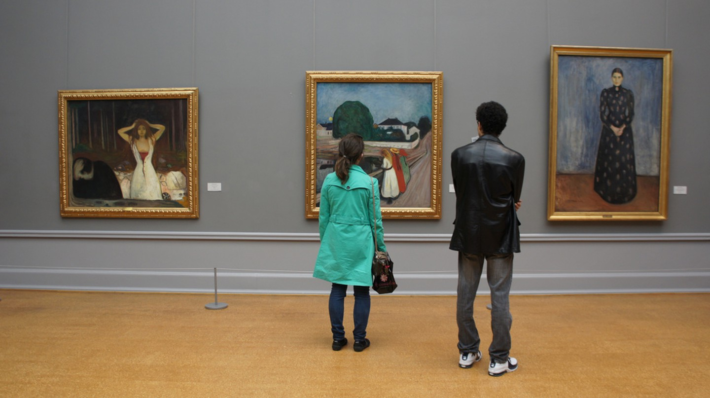 Munch paintings at the National Gallery