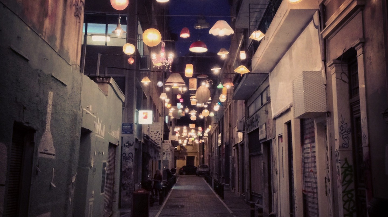 The Lights in Pittaki Street, Athens | © sixtwelve / Flickr