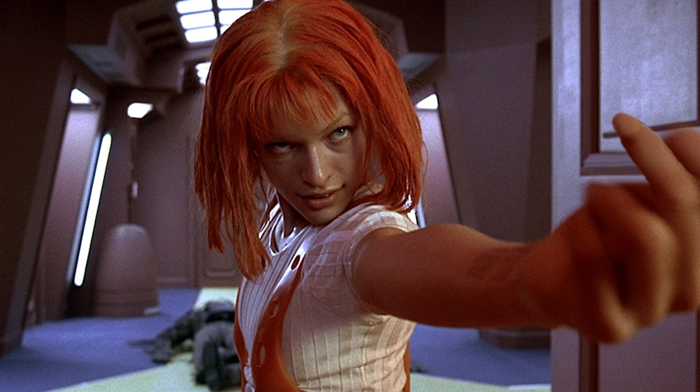 Milla Jovovich in 'The Fifth Element' | © Gaumont/BVI