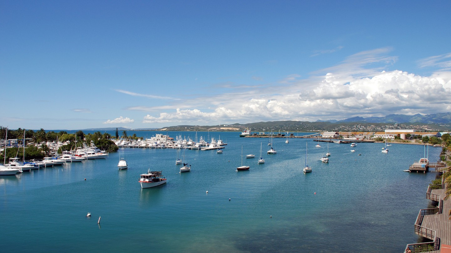 Aerial view of part of La Guancha in Ponce | © yasmapaz & ace_heart/ Flickr