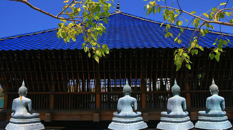 Gangarama Temple| © Lkzombie/WikiCommons