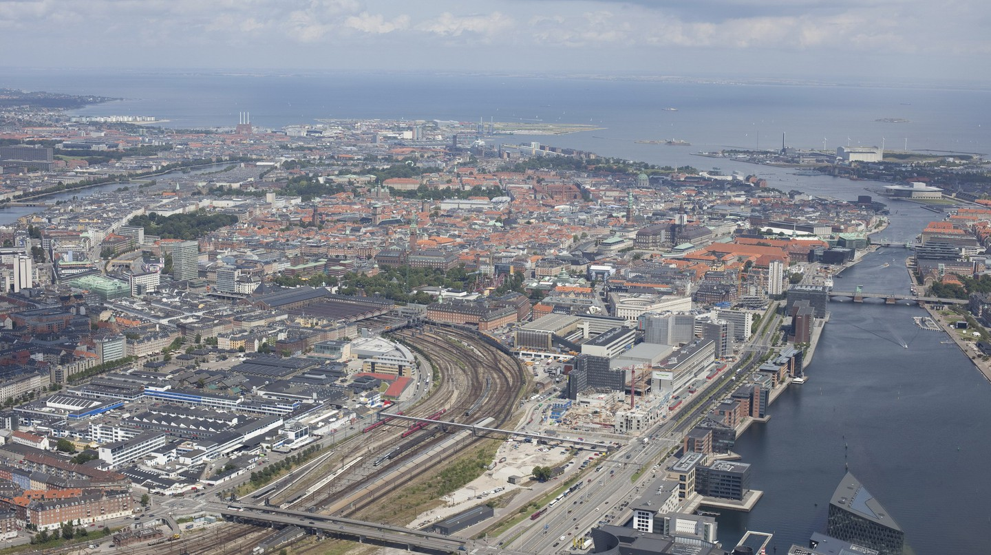 Copenhagen from above | Courtesy of Danish Fly | © Ole Konstantyner