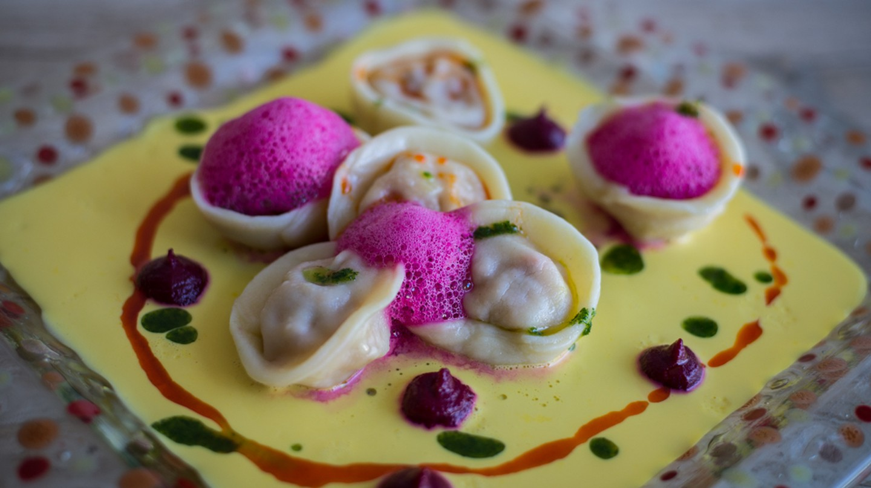 Pasta with saffron sauce at Kalma | Courtesy of Kalma