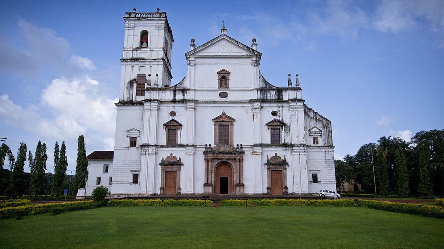 Se Cathedral Goa © Abhiomkar / Wikimedia Commons
