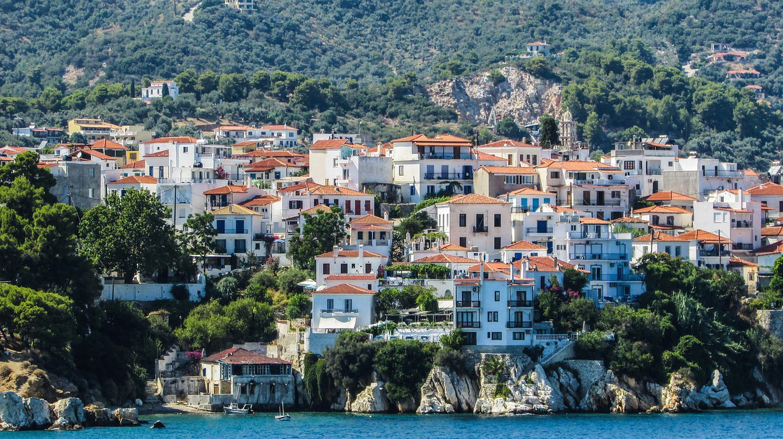 View of Skiathos, Sporades