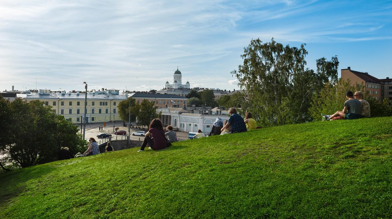 Relaxing in Helsinki | Pixabay