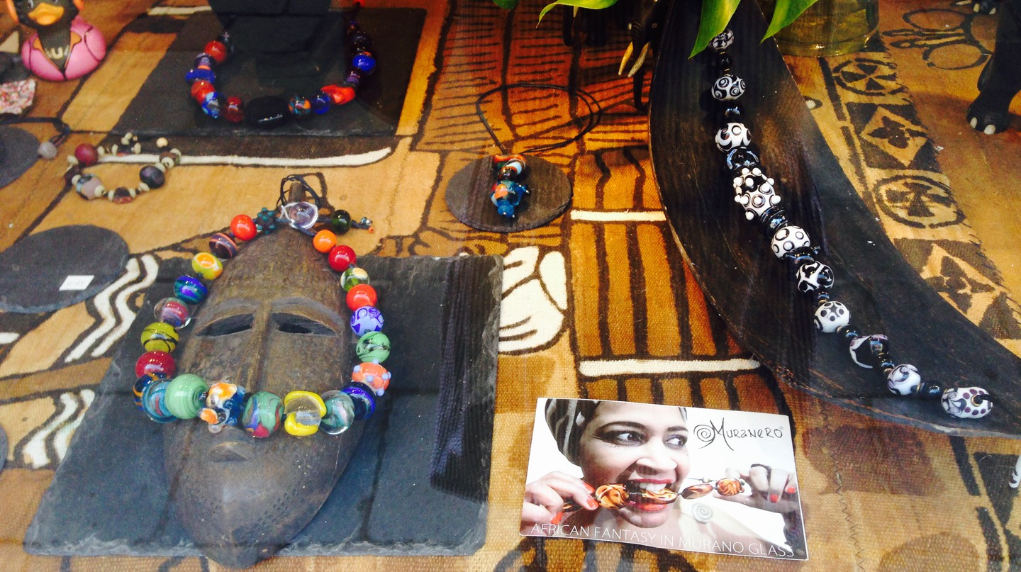 Muranero glass jewelry | Courtesy of the author