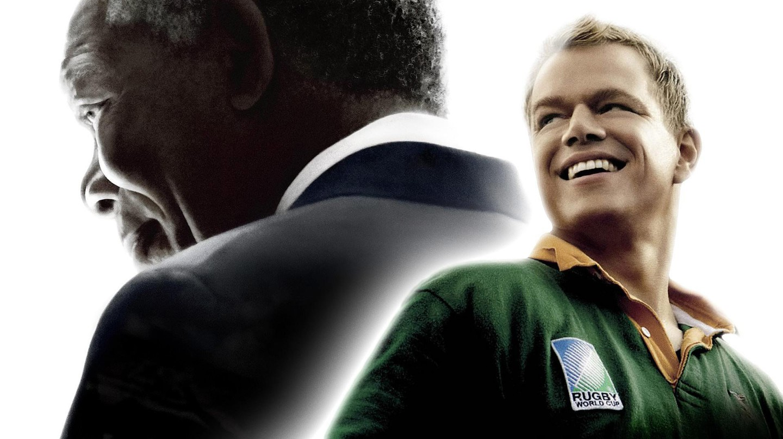 Matt Damon and Morgan Freeman star in Invictus, based on true events | Courtesy of  Warner Bros.
