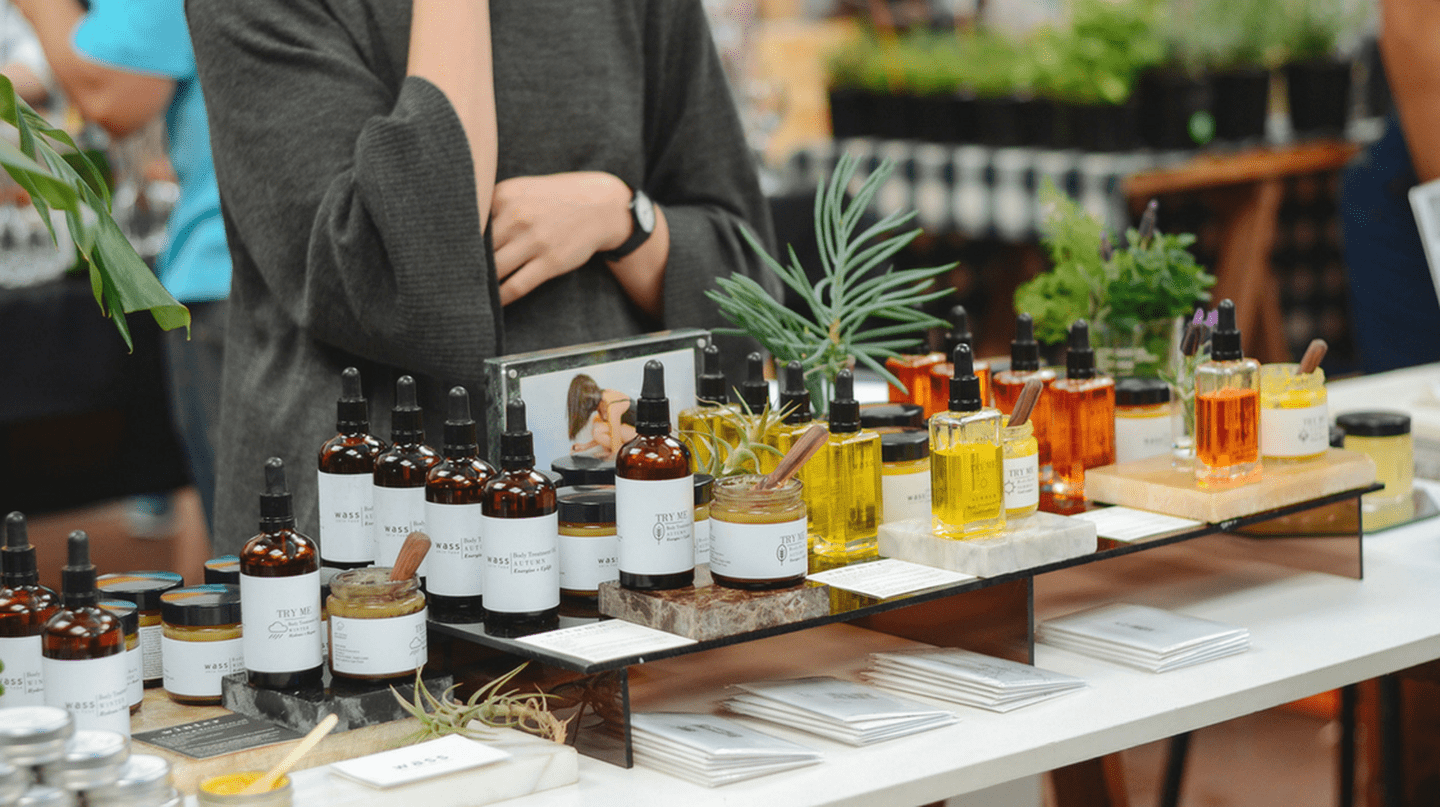 Wass Skincare produces natural products for all skin types and they're often seen at local markets |Courtesy of The Neighbourgoods Market