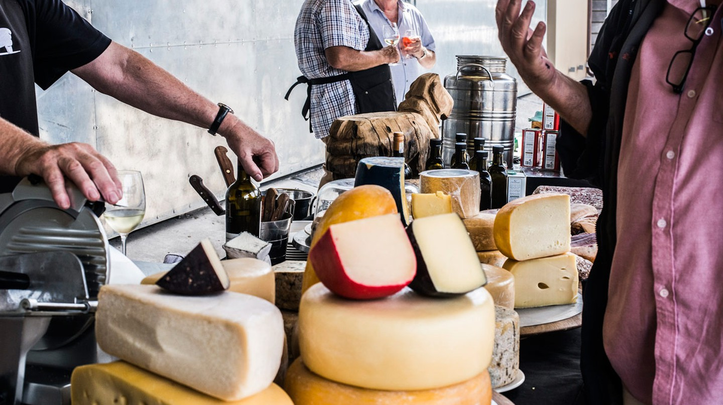 The Hermanuspitersfontein Food & Wine market sells some of the best local cheeses available | Courtesy of Hermanuspietersfontein