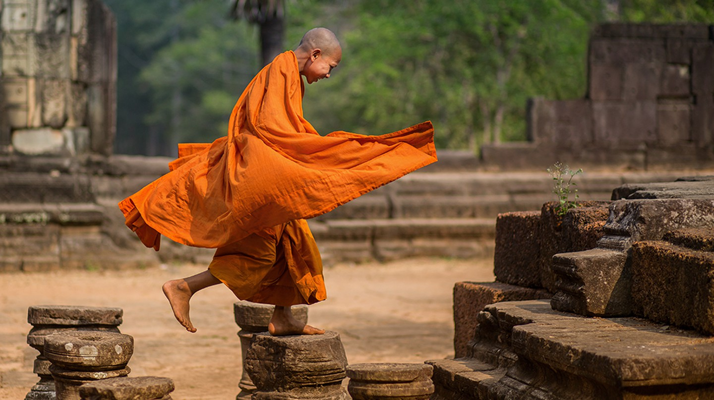 A Buddhist Monk | Courtesy of Minko Mihaylov Photography