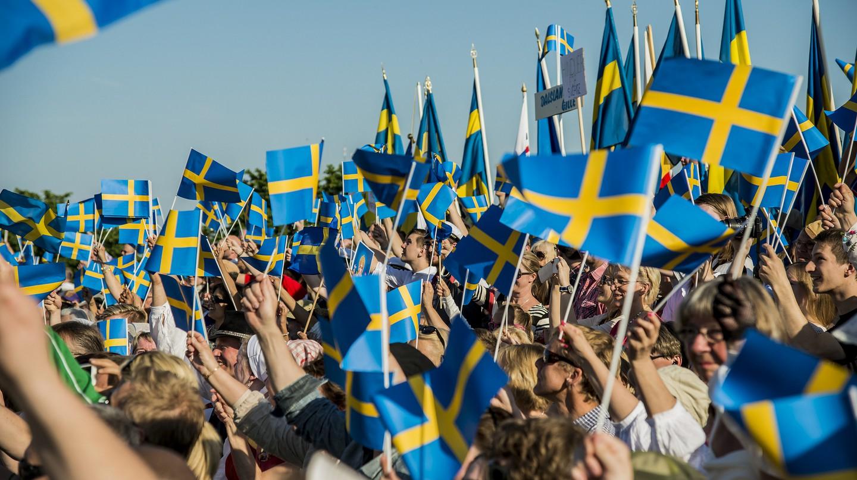 Celebrating Sweden's National Day |© Sveriges Veteranförbund F / Flickr