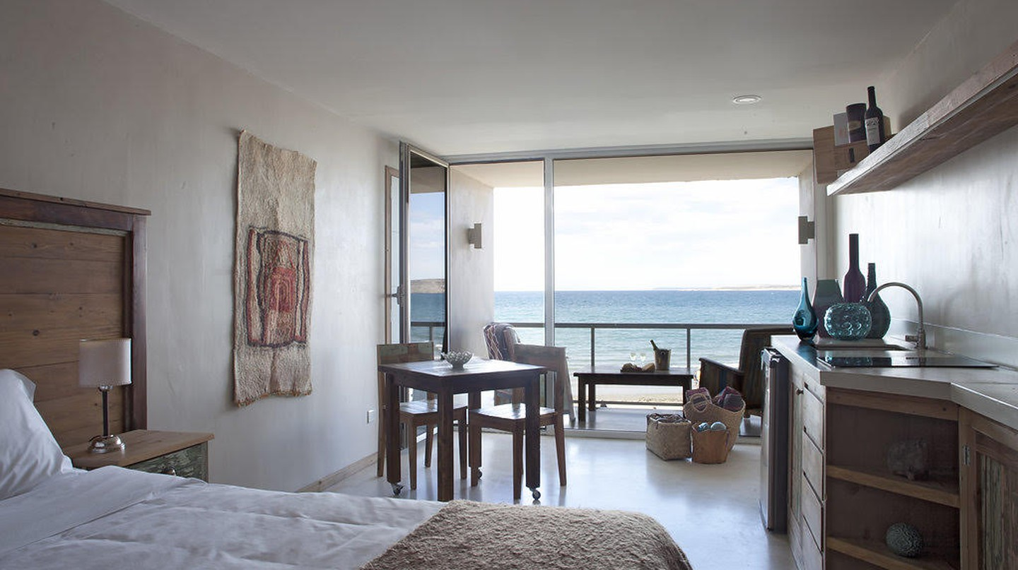 Beachside condominium at Océano Patagonia: Wild Coast Residence | Courtesy of Océano Patagonia: Wild Coast Residence