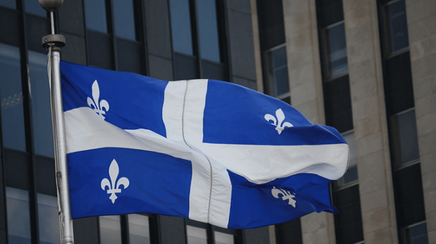 The Fleurdelisé, the flag of the province of Quebec | ©Makaristos / WikiCommons