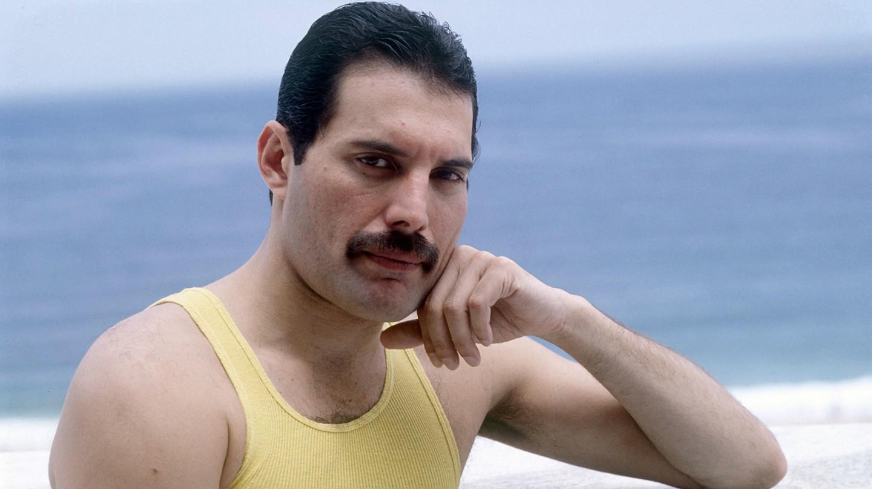 Freddie Mercury in Rio De Janeiro, Brazil, 1985 | © Richard Young/REX/Shutterstock