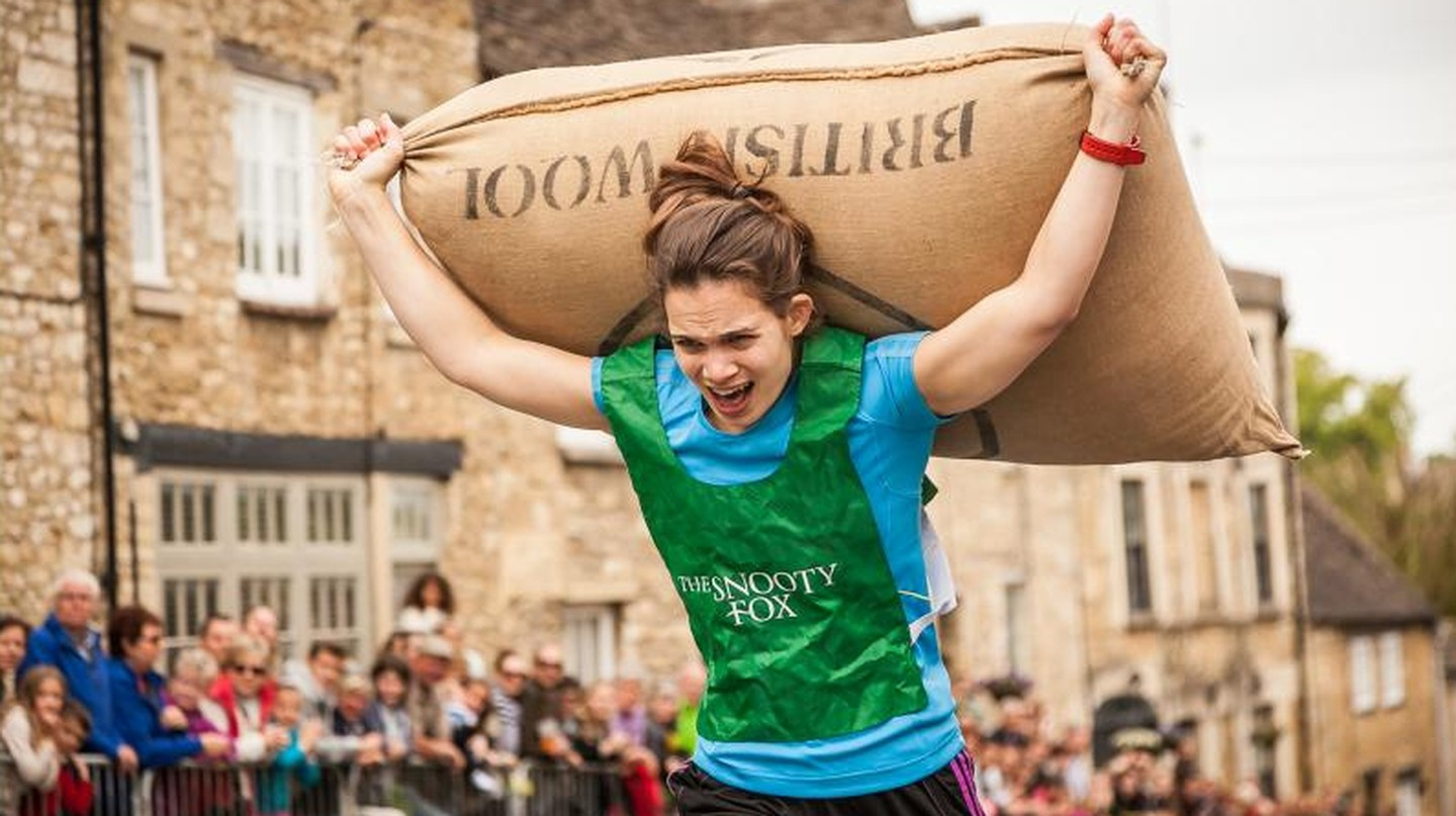 Runner | Courtesy of Tetbury Woolsack Races