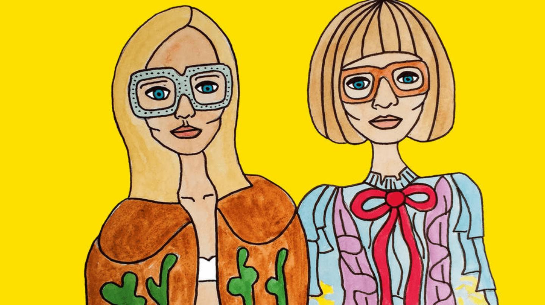 Angelica Hicks x Gucci | © Gucci