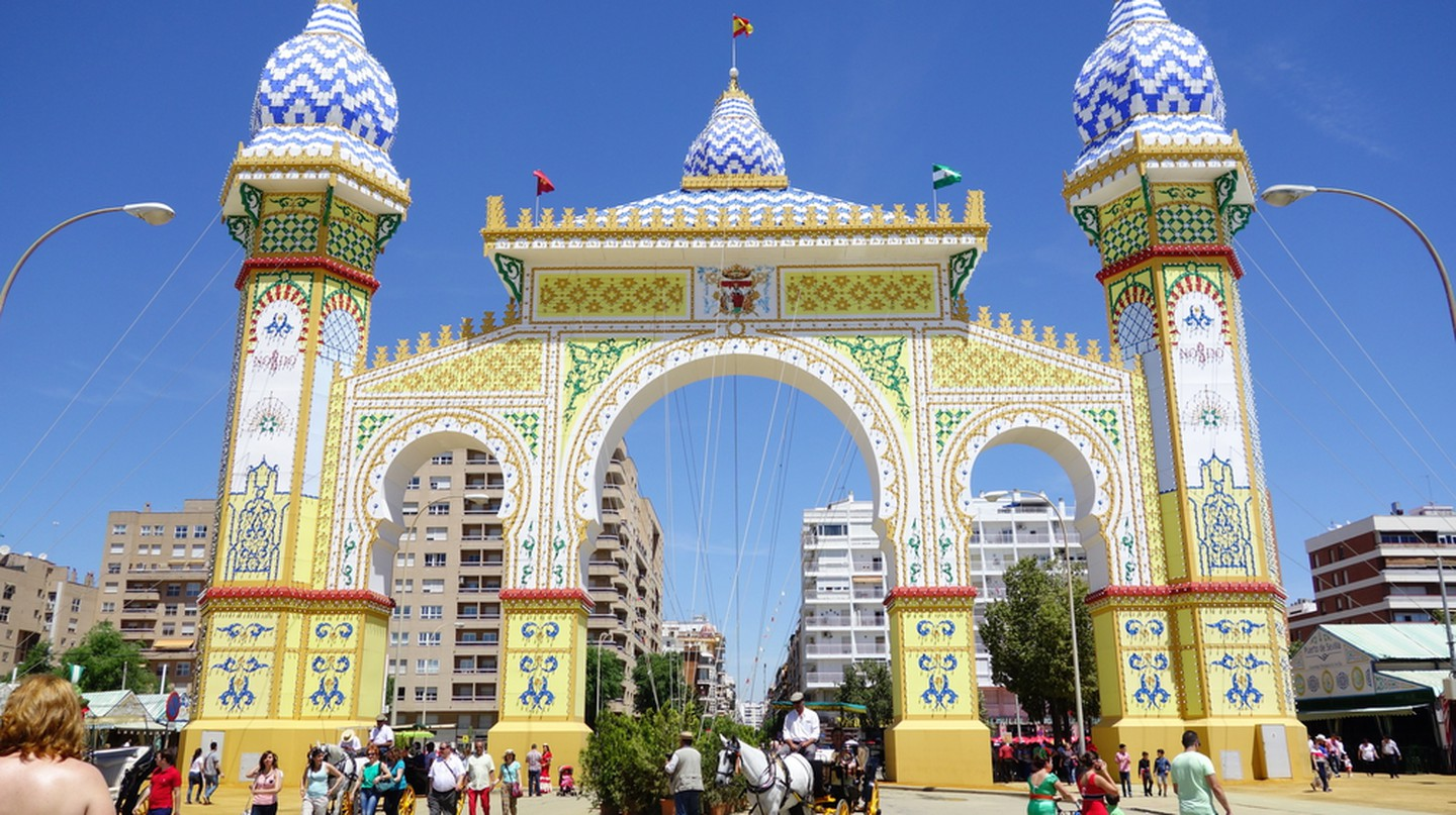 The grand entrance to Seville's April Fair | © Silvia B. Jakiello/Shutterstock