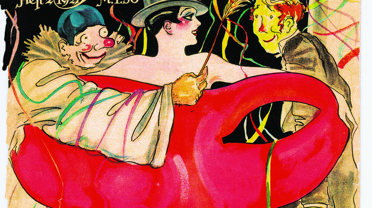 Reigen Magazine, 1927  Republic Weimar Erotic Magazine | © Susanlenox/Flickr