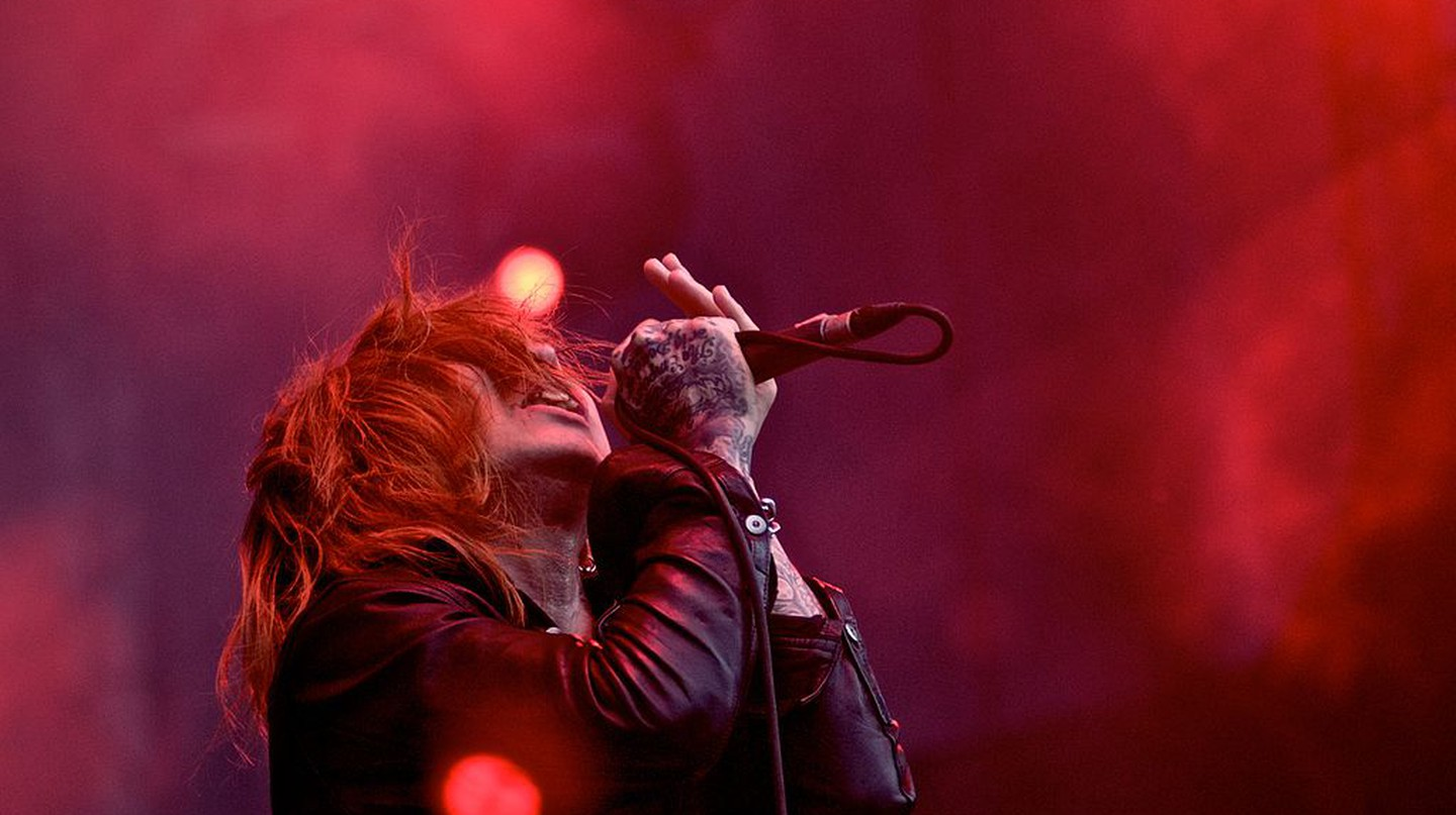 Kyo of Dir En Grey performs in Sao Palo, Brazil in 2009 | © Silvio Tanaka/WikiCommons