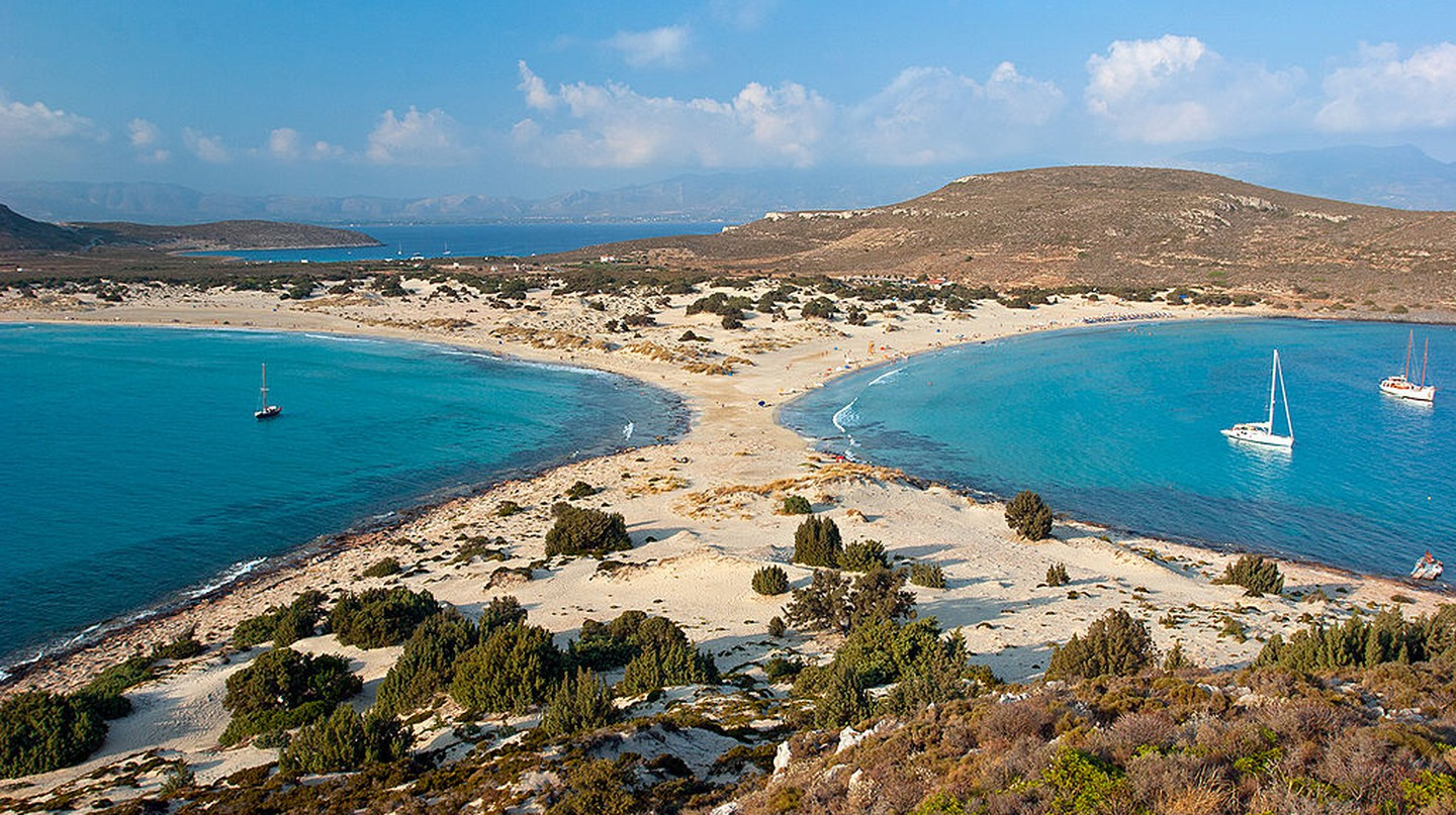 Simos beach, on Elafonissos island | © Νίκος Α. Κανελλόπουλος / WikiCommons