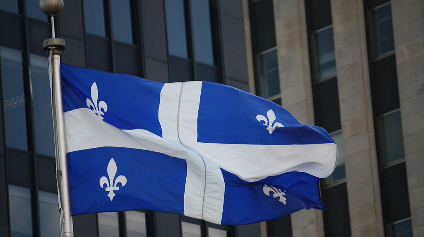 The Fleurdelisé, the flag of the province of Quebec | © Makaristos / WikiCommons
