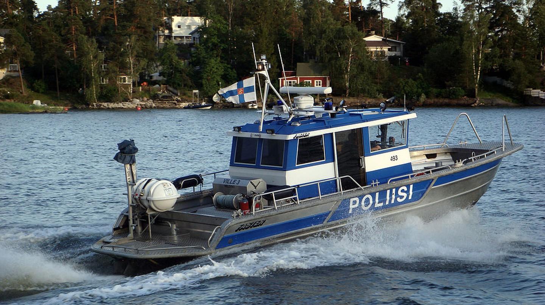 Finnish police boat | © Jaakonam / WikiCommons