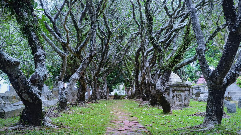 Cemetery in Georgetown, Penang   © Jiří 伊日 / Flickr <https://www.flickr.com/photos/92903415@N05/10755635745/>