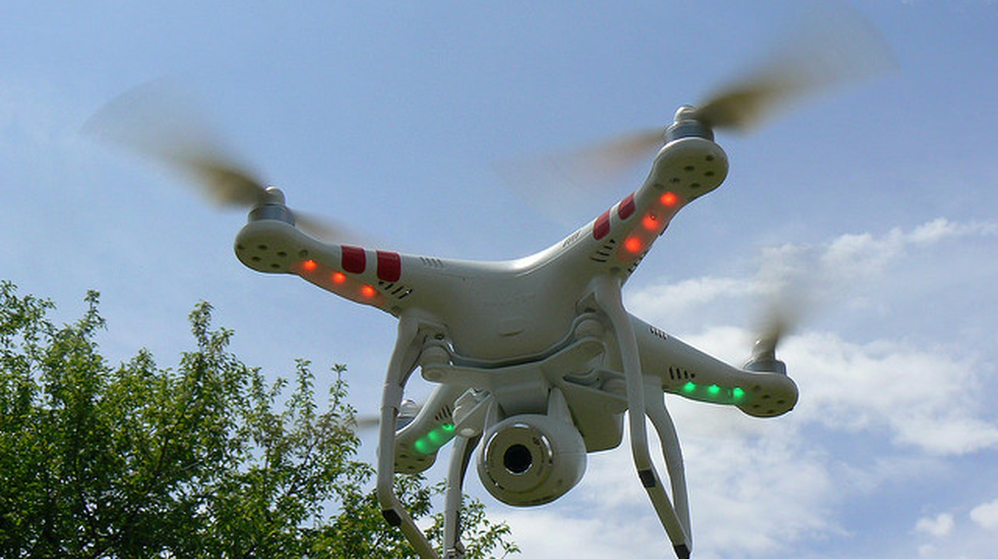 Drones have been used for smuggling | © Peter Linehan/ Flickr