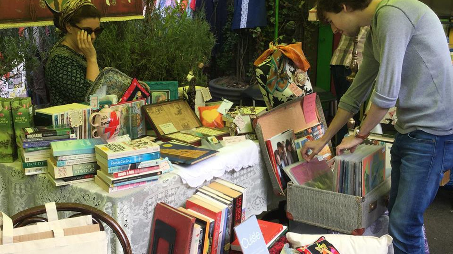 Belfast Flea at The Sunflower | Courtesy of Belfast Flea
