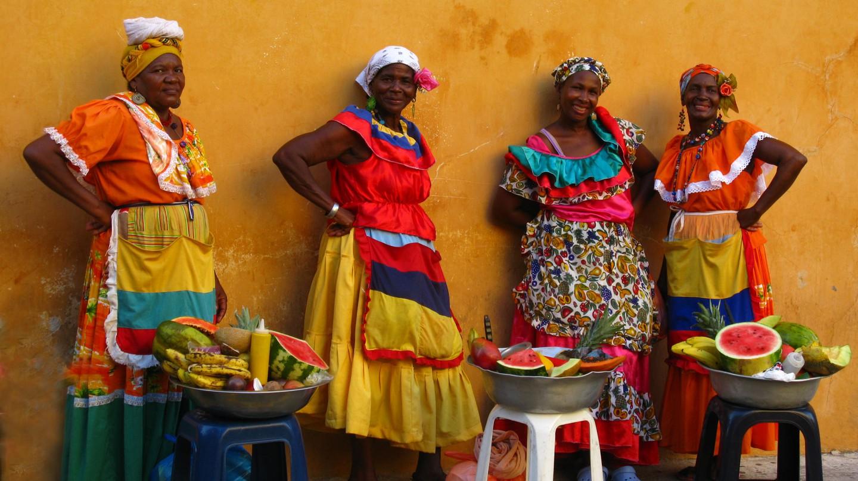 Palenqueras in Cartagena | © Luz Adriana Villa/Flickr