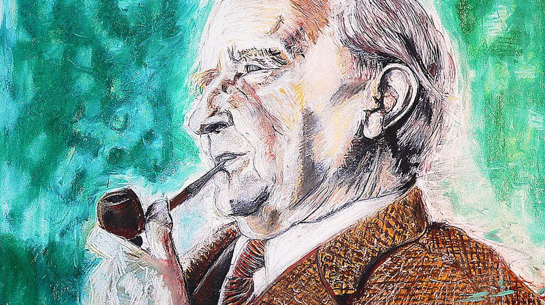 J.R.R. Tolkien, da morto | by bluinfaccia / Flickr