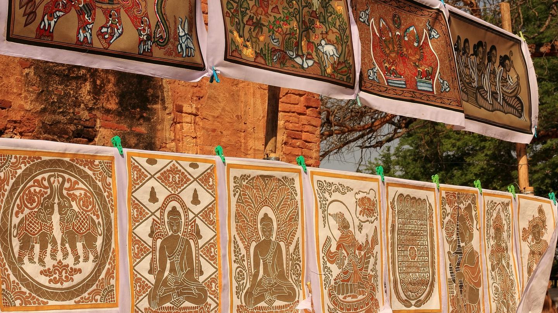 Buddhist art on display in Bagan   © Marcela Tokatjian/Flickr