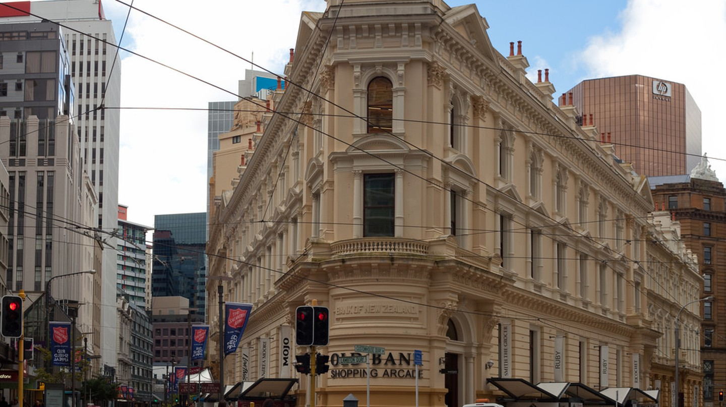 Old Bank Arcade, Wellington | © russellstreet/Flickr