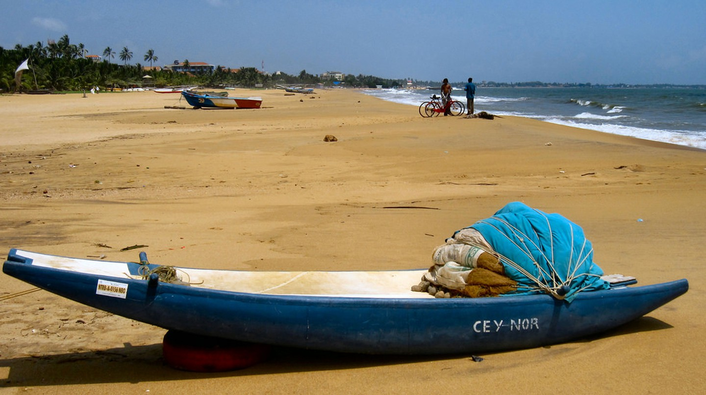 Beautiful beaches of Negombo | © Ronald Saunders/Flickr
