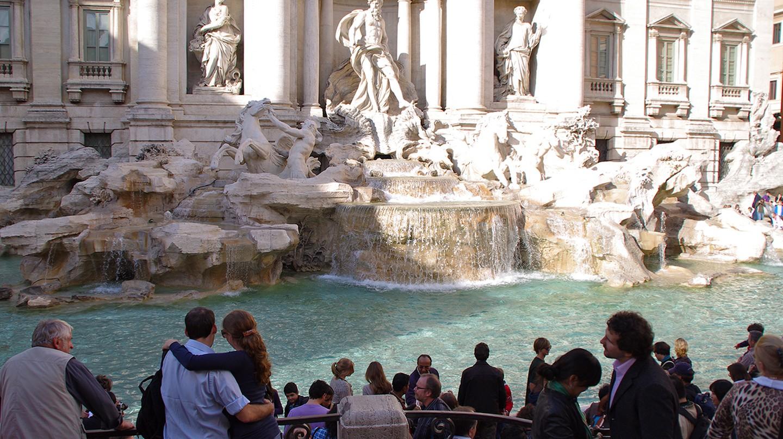 Trevi Fountain | © stevekc/Flickr