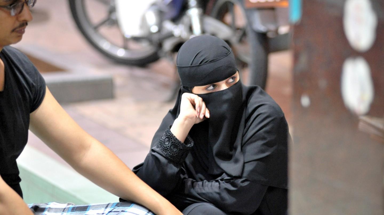 Woman in a burqa | © exit 1979 / flickr