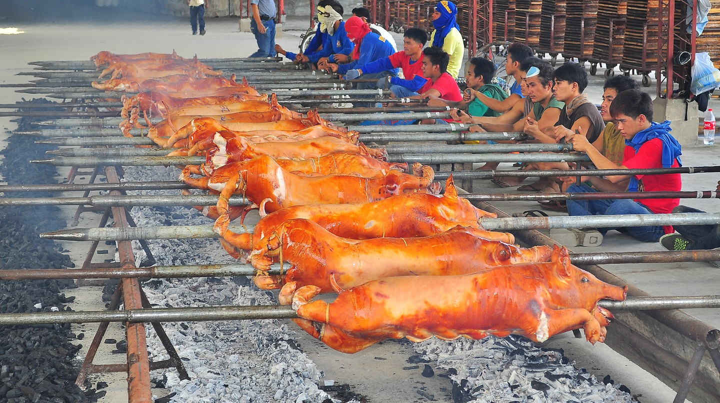 Roasting Pigs | © whologwhy/Flickr