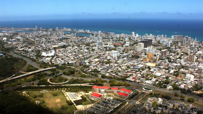 Aerial view of Condado in San Juan | © Prayitno/Flickr