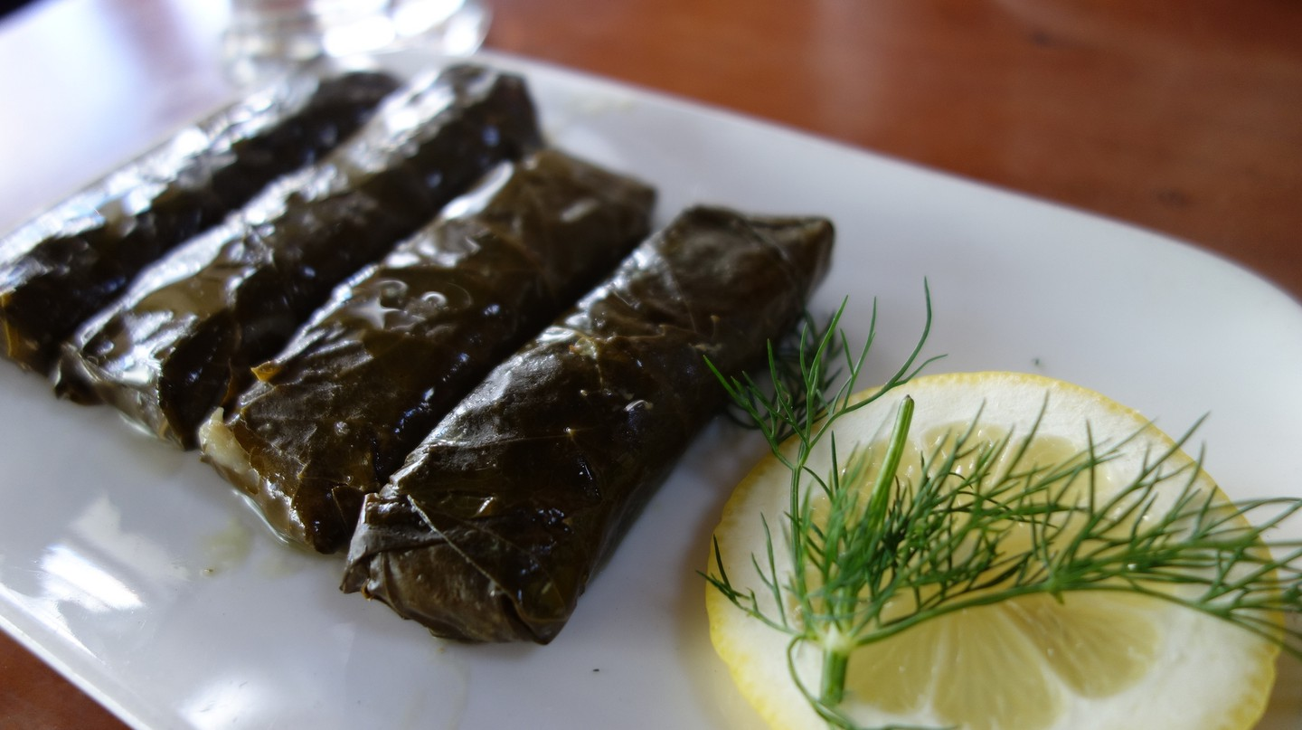 Stuffed Grape Leaves | © kennejima/Flickr