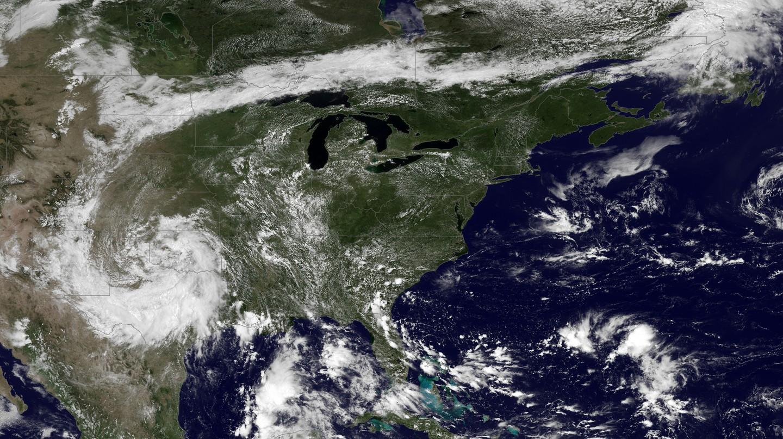 Heat waves of the USA   © NASA
