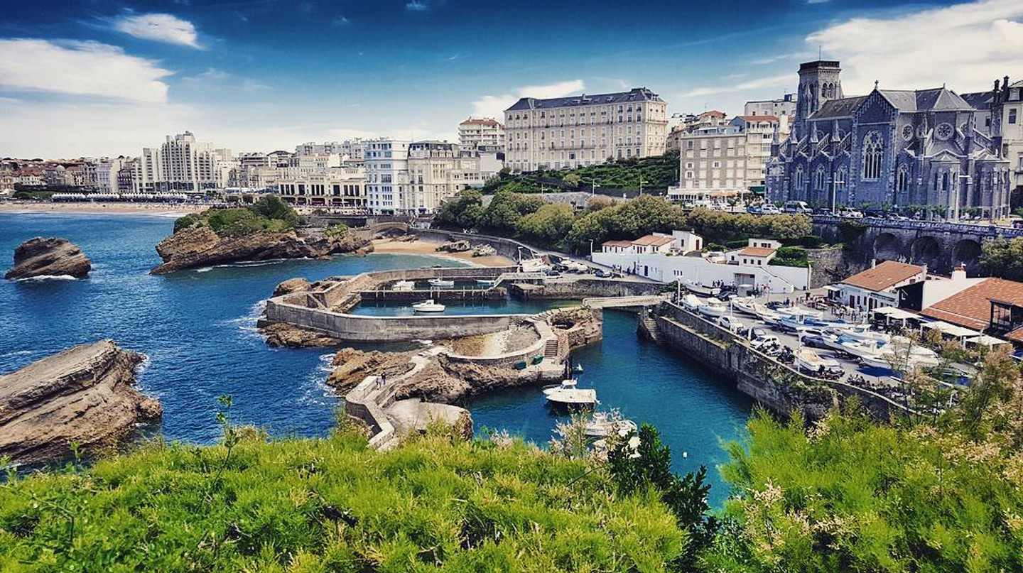 Biarritz view |Courtesy of Pays Basque Tourisme